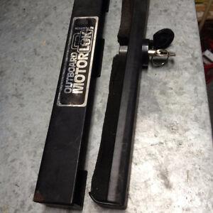 Outboard motor lock..