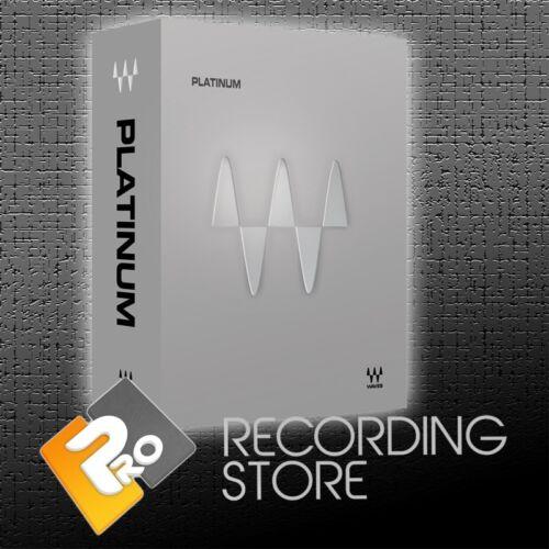 Waves Platinum Bundle Native - 50 Plugins - Pro Tools AAX RTAS VST