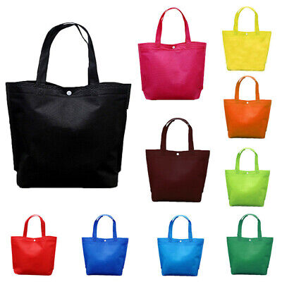 Fabric Storage Eco Reusable Shopping Bags Tote Foldable Grocery Bags Recycle Bag