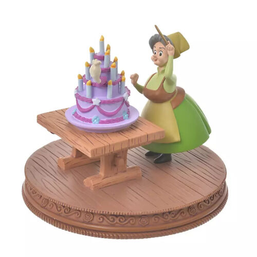 Disney Store Japan Fauna birthday Cake Figure Sleeping Beauty Story Collection