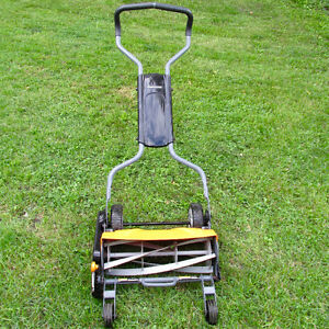 FISKARS MANUAL LAWNMOWER 1/2 PRICE OR OFFERS ?
