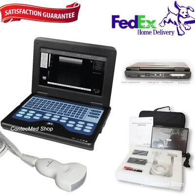 Contec Portable Laptop Machine Digital Ultrasound Scanner3.5m Convex Probe Usa
