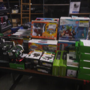 Video Game Accessory Lot -1 pallet Mixed Items - Great Buy