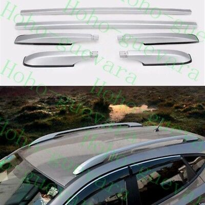1set Car Roof Racks Side Rails Bars Luggage Rack Trim for Mazda CX-5 CX5 2012-17