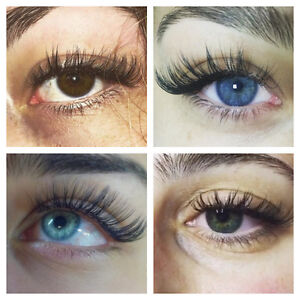 Mink/Silk Eyelash Extensions - Unlimited Count - Microblading Cambridge Kitchener Area image 1