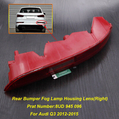Rear Bumper Tail Light Lamp Right Driver Off Side For Audi Q3 2012-2015 2014