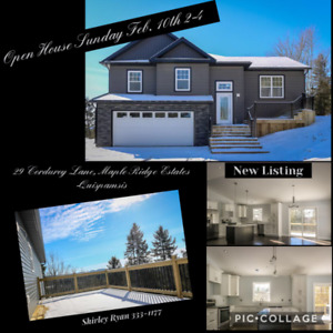 OPEN HOUSE SUNDAY, FEB. 10th 2-4 pm - 29 Corduroy Ln, Quispamsis