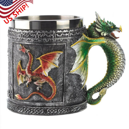 US! Game of Thrones Daenerys Mother of Dragons Coffee Mugs S