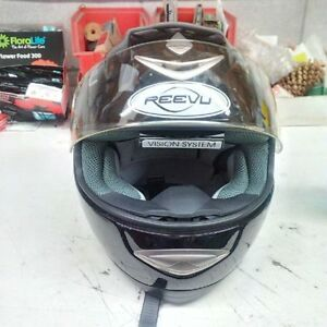 Motorcyle Helmet (Reevu) In Helmet Rear View Mirror (Med.)