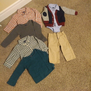Gap Toddler Boys outfits - 12-18 months