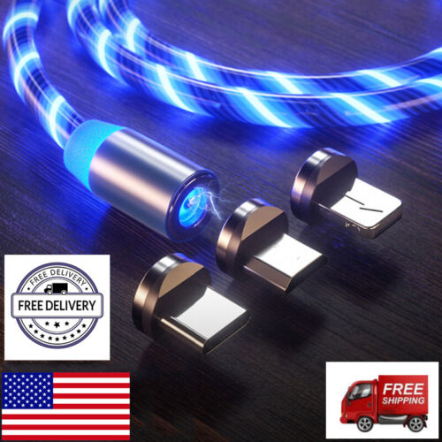 magnetic absorption led light flowing glow micro