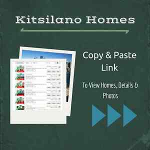 2 Bedroom Kitsilano Homes - $550K - Free List of Homes