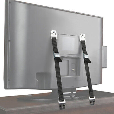 2pcs/Lot Cabinet TV Furniture Anti-Tip Straps Anchor Child Kids Safety Strap US (Tip Tv)