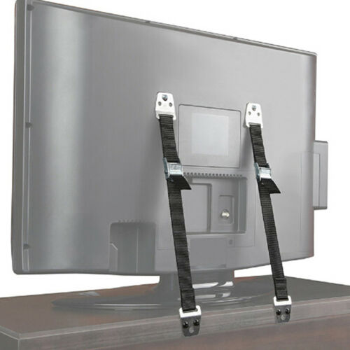 2pcs/Lot Cabinet TV Furniture Anti-Tip Straps Anchor Child Kids Safety Strap US