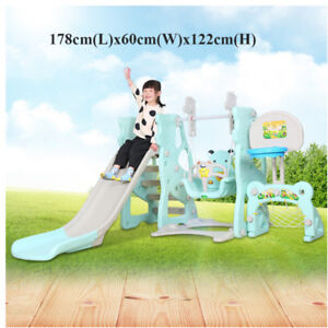 High Quality Children Safety Slide ladder and Swing Set-Only 199