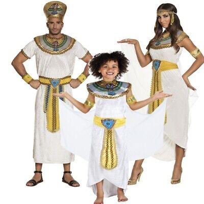 Pharaonin Pharao Cleopatra Ägypter Kostüm für Damen Herren Kinder -Auswahl-