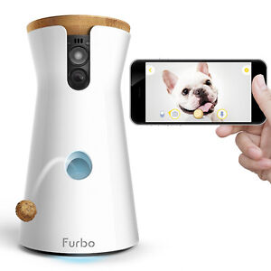 NEW Furbo Dog Camera: Treat Tossing, HD Wifi Pet Cam, and 2-Way