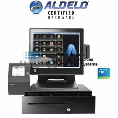 Aldelo Pos System For Bars Restaurants - Complete Package Free Support 4gb Ram