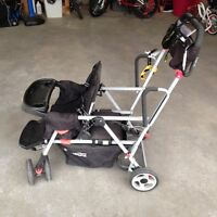 Joovy Caboose Ultralight - Sit and Stand Double Stroller