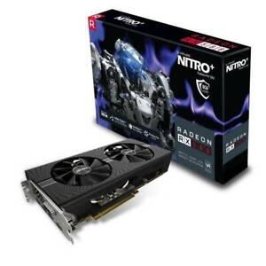 Sapphire Nitro  AMD Radeon RX 580  OC 8GB GDDR5 Gaming Graphics