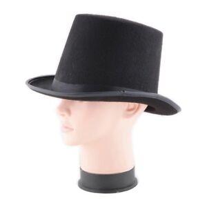 Classic Magic Top Hat Children Magician Fancy Dress Costume Black Top Hat  Props 1a33754cb850