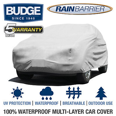 Budge Rain Barrier Suv Cover Fits Small Suvs Up To 135  Long   Waterproof