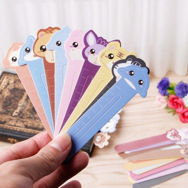 30 Pcs Kawaii Fun Animal Farm Cartoon Bookmark Paper For Books Babys Gifts Cute
