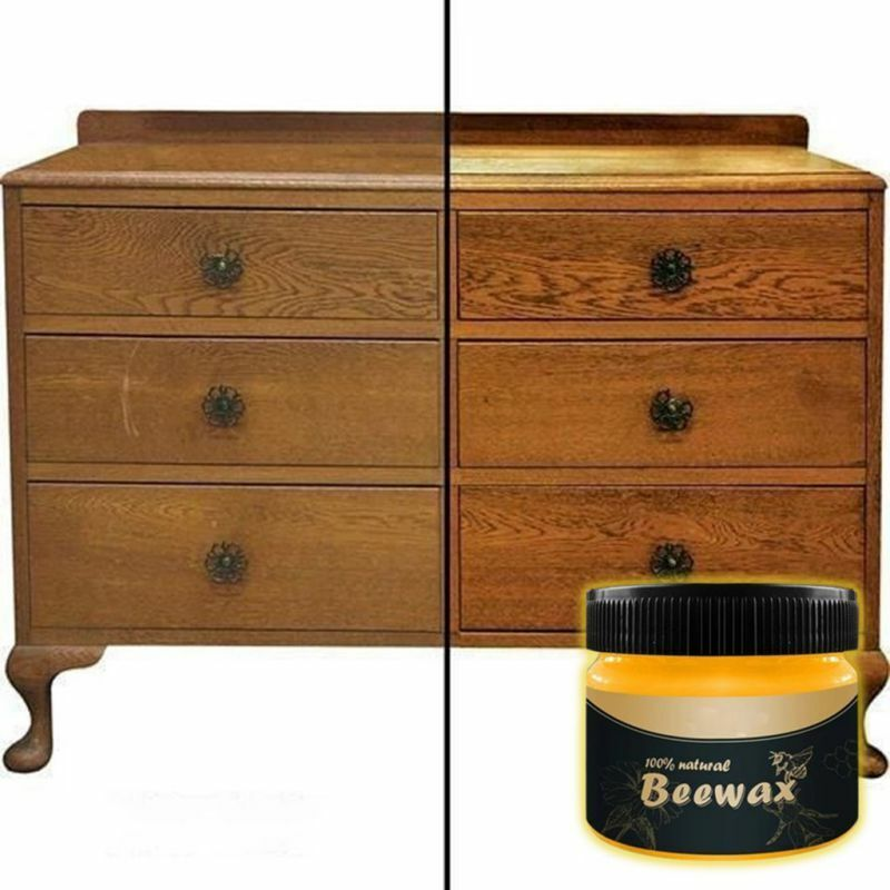 Wood Seasoning Beeswax-Complete Solution Home Furniture Care Beeswax-Wax Bees b8