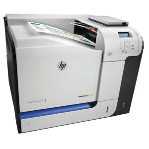 HP LASERJET 500 COLOUR M551 PRINTER (USED / OFF LEASED)
