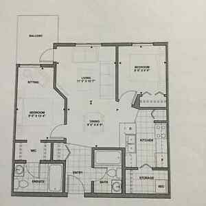 BRAND NEW 2bedroom 2bathroom CONDO A/Cin suite + much more Edmonton Edmonton Area image 3