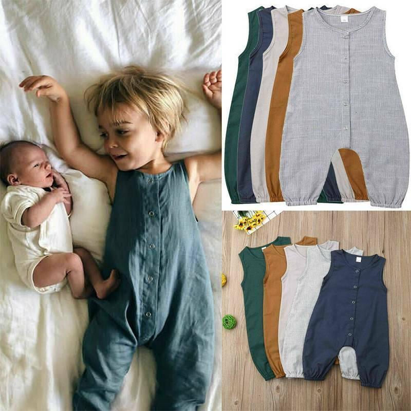 Toddler Casual Bodysuit Playsuit Jumpsuit