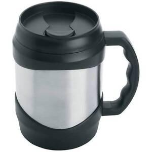 New-Oversized-Stainless-Steel-52-oz-Coffee-Travel-Mug-Keg-Large-Huge-Cup-Black