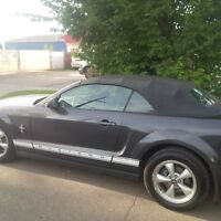 2007 Ford Mustang Convertible ONE OWNER--AMAZING--ONLY 116000KM