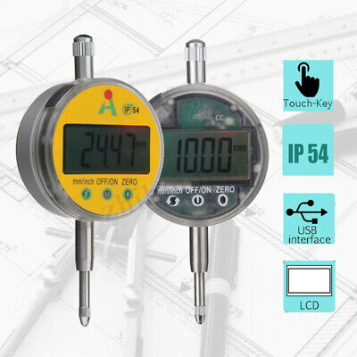 Digital Probe 0.01mm0.0005 Range Dial Indicator Clock Gauge 0.01-12.7mm