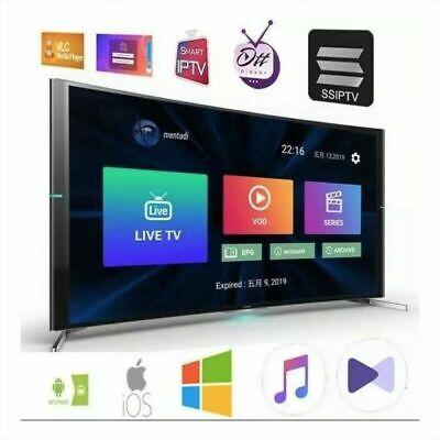 IP*TV 12 Mois Abonnement M3U SMART TV MAG Xtream