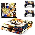 143 Sticker skin wrap ps4 stickers playstation 4 + 2x contro