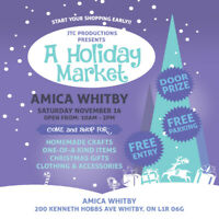 AMICA WHITBY HOLIDAY MARKET!