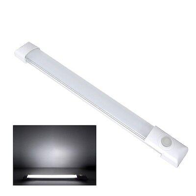 12V LED Lichtleiste Wandleuchte Deckenlampe Wohnwagen Fluoreszierend Schalter