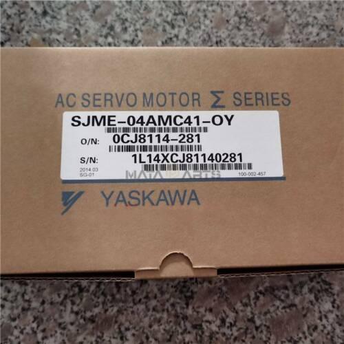 1pcs yaskawa SJME-02AMC41-OY servo motor New