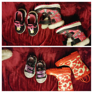 Girls shoes size 6 & size 5
