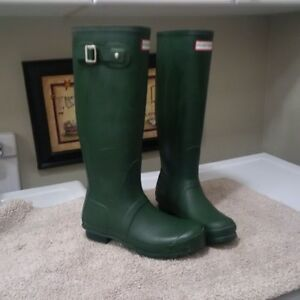 "Green ""Tall"" Hunter boots"