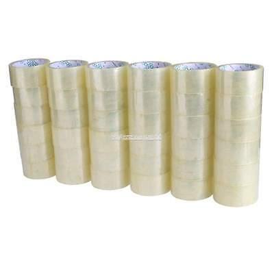 36 Rolls Shipping Packaging Packing Box Sealing Tape 2 Mil 2 X 55 Yard 165ft