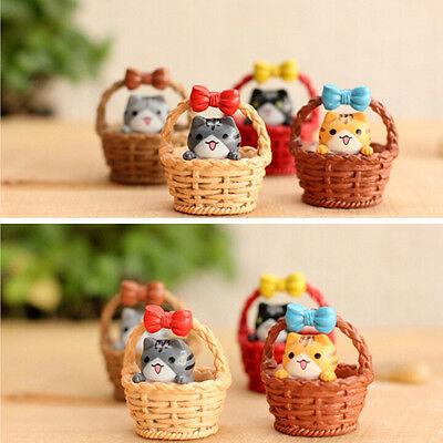 Декоративные фигуры Garden Cat Ornament Miniature