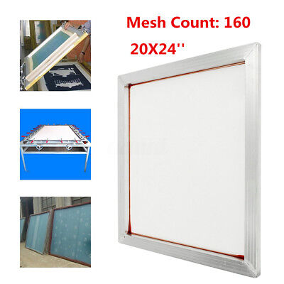 24x20 Aluminum Silk Screen Printing Press Screens Frame With 160 Mesh Count