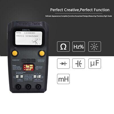 Esr02 Pro Digital Transistor Esr Meter Smd Components Inductance Multimeter Cs