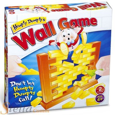 Humpty Dumpty Wall Game Remove The Bricks Don't Let Humpty Fall Children's Toy