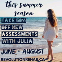 Athletic Therapy Assessments 50% Off July-August