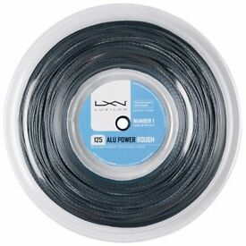 LUXILON 125 ALU POWER TENNIS STRING FOR SALE! COMPLETELY NEW!!!