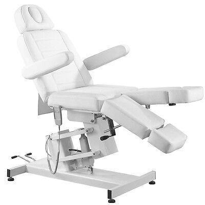 Fußpflegestuhl 25 Kosmetikliege elektrisch 1 Motor Massageliege