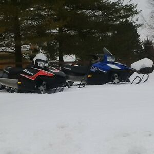 Package Deal, $8,000.for both sleds
